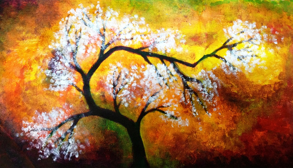 Image of: Acrylic Painting Ideas Beginners
