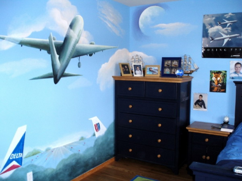 Aviation Decorating Ideas