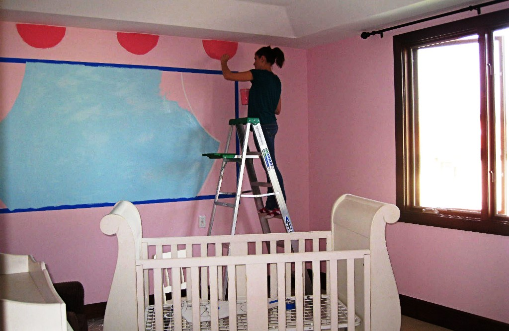 Image of: Baby Girl Bedroom Colors