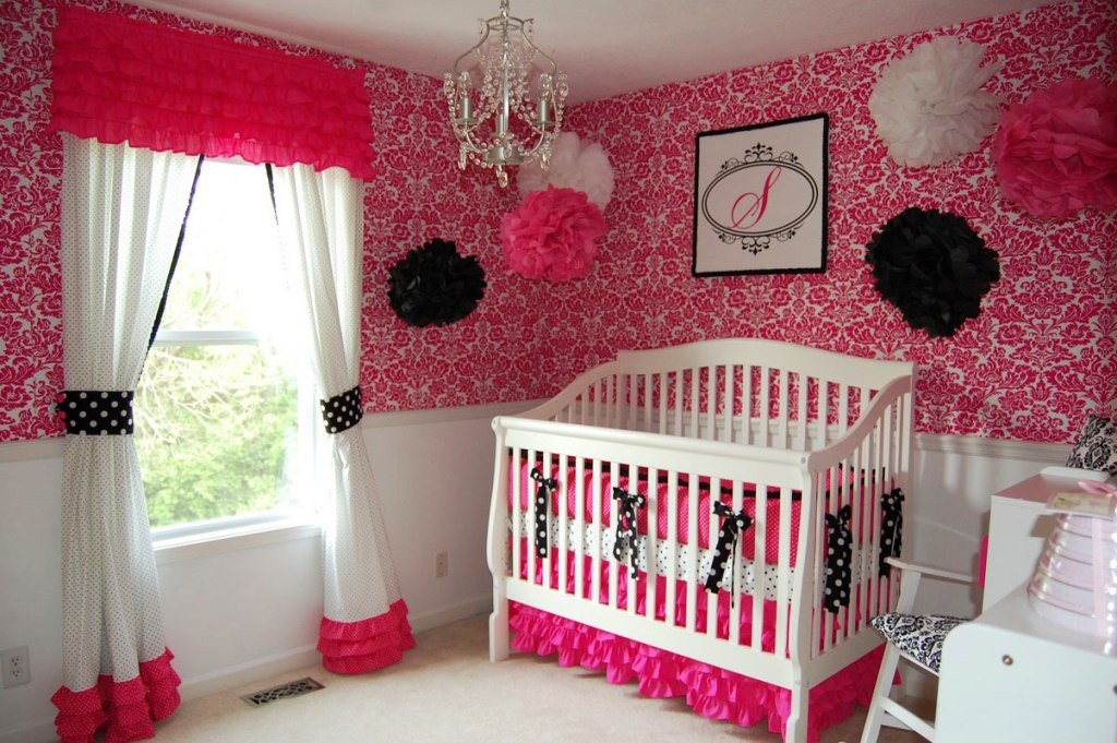Image of: Baby Girl Bedroom Decorating Ideas