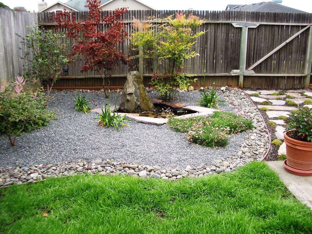 Image of: Backyard Landscape Ideas Pictures