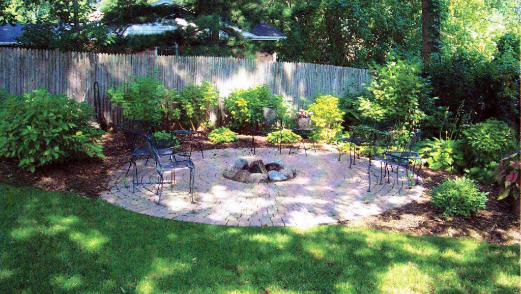 Image of: Backyard Landscape Pictures