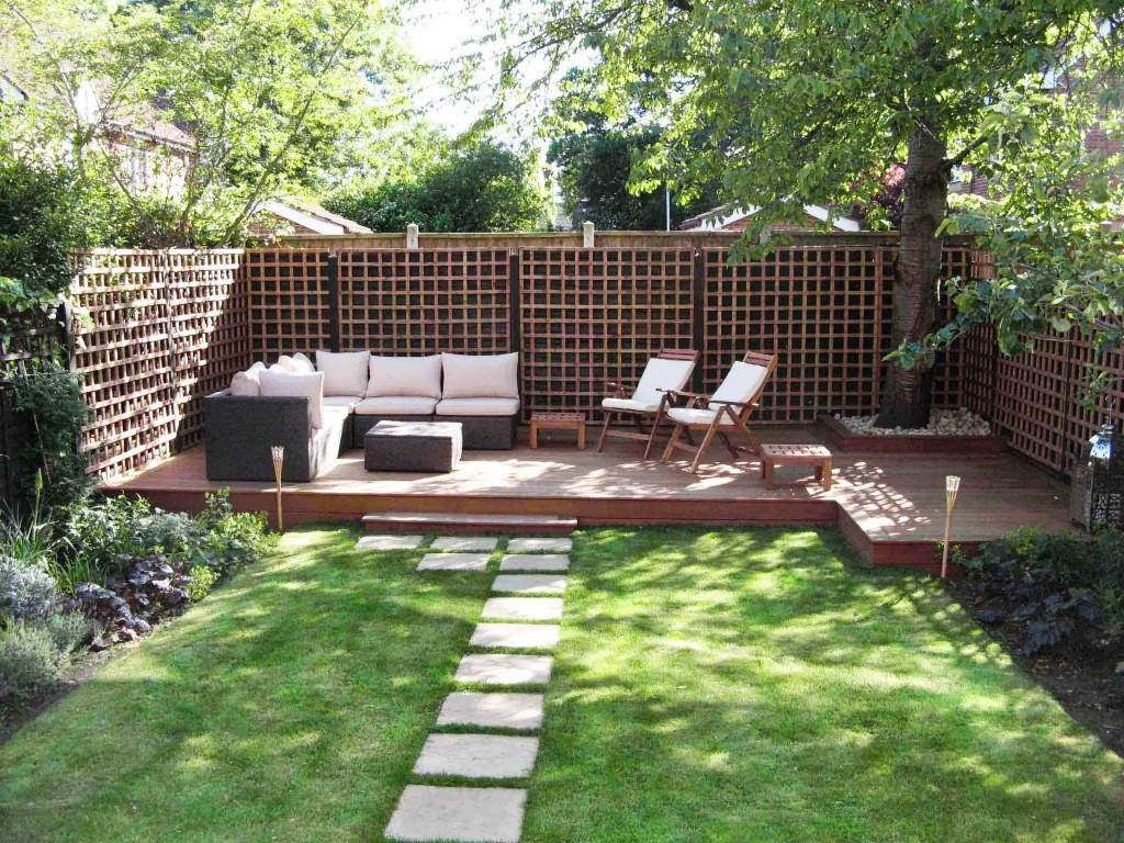 Image of: Backyard Landscapes Pictures