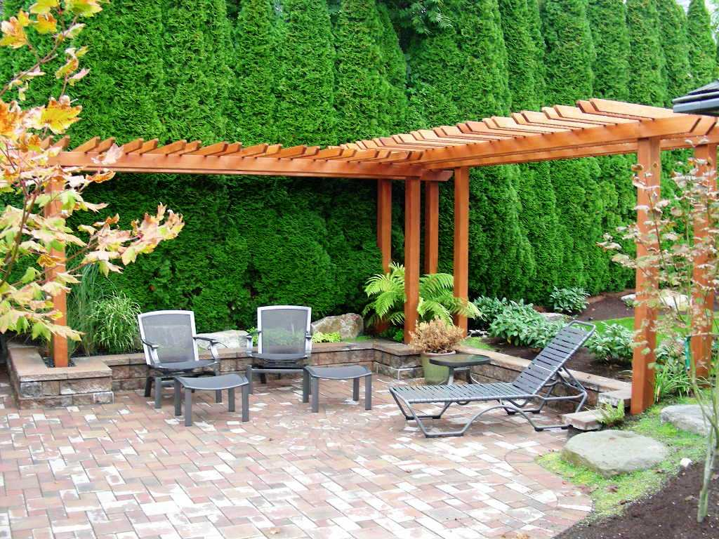 Image of: Backyard Landscaping Pictures