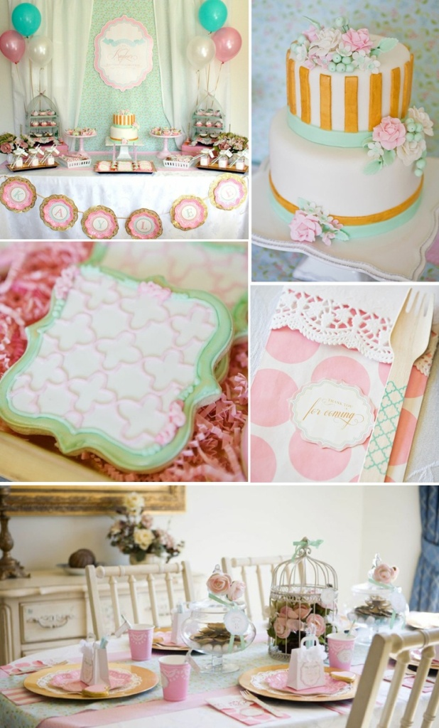 Image of: Baptism Cake Ideas For Girls Decor