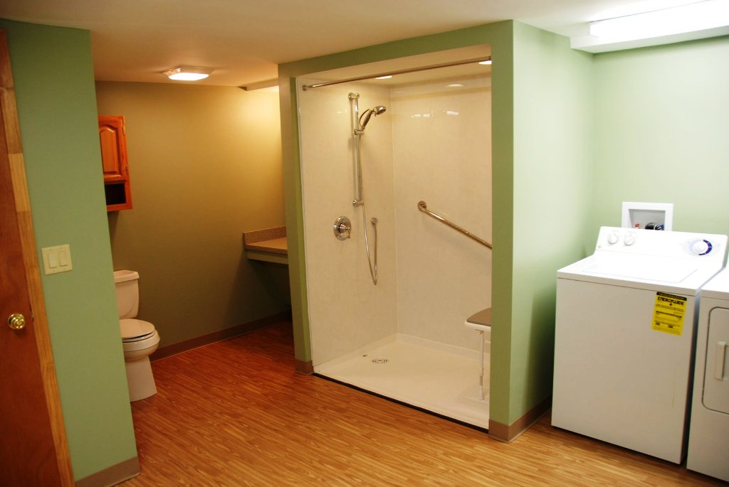Image of: Basement Bathroom Photos