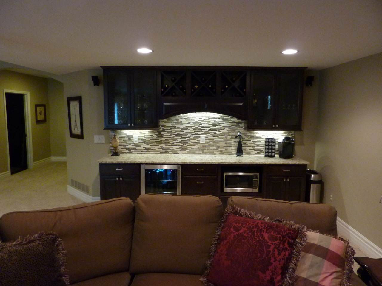 Image of: Basement Finishing Ideas Picture