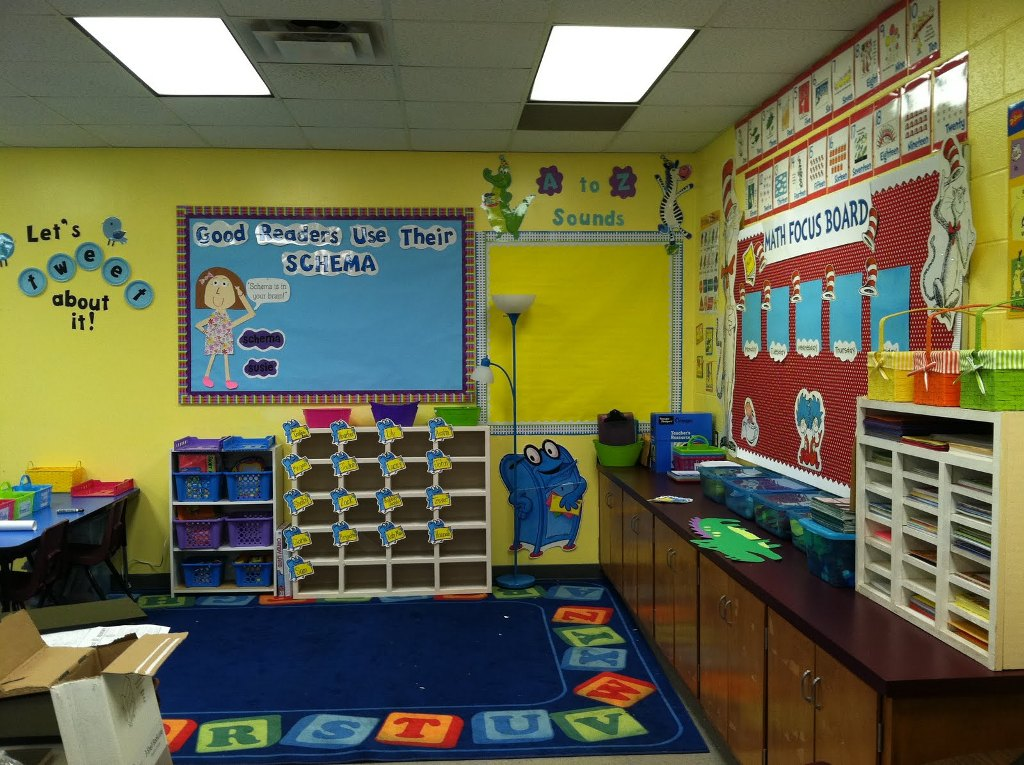 Image of: Playful Fun Classroom Decoration Ideas