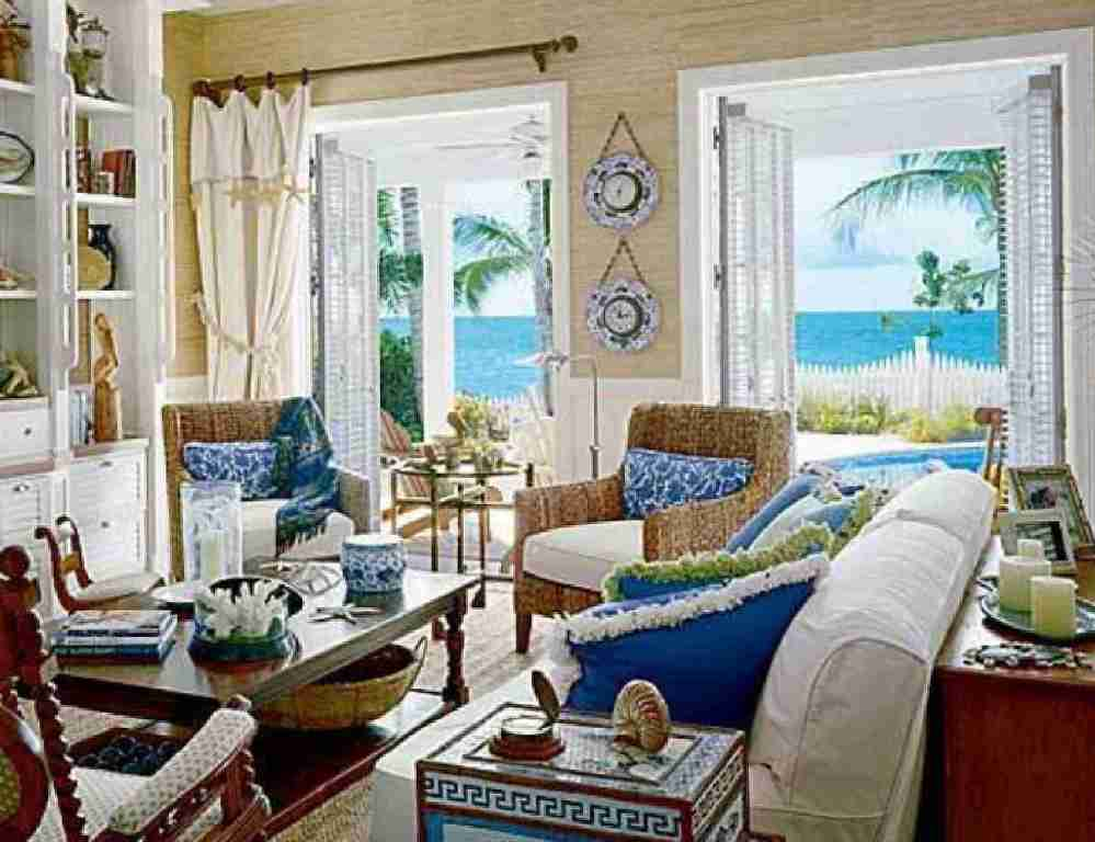 Image of: Coastal Living Room