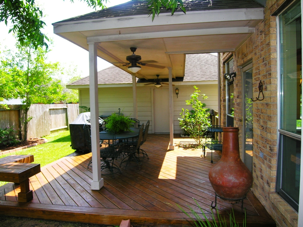 Image of: Covered Deck Ideas Pictures