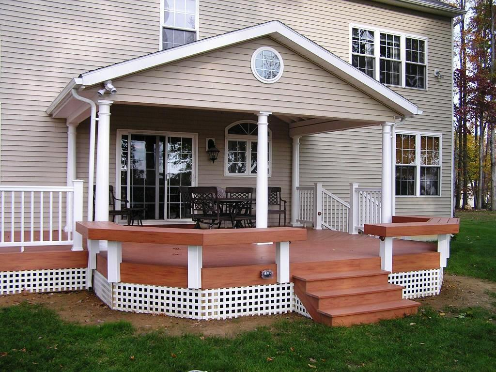 Image of: Covered Decks And Patios