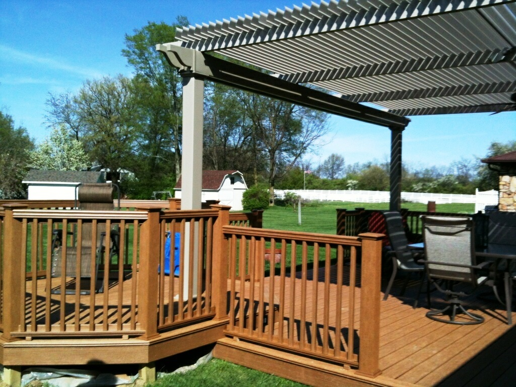 Image of: Covered Decks