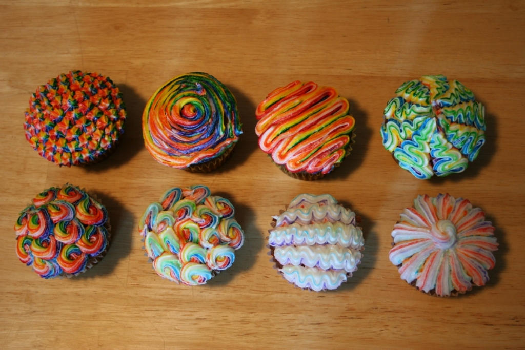 Image of: Cupcake Decorating Idea