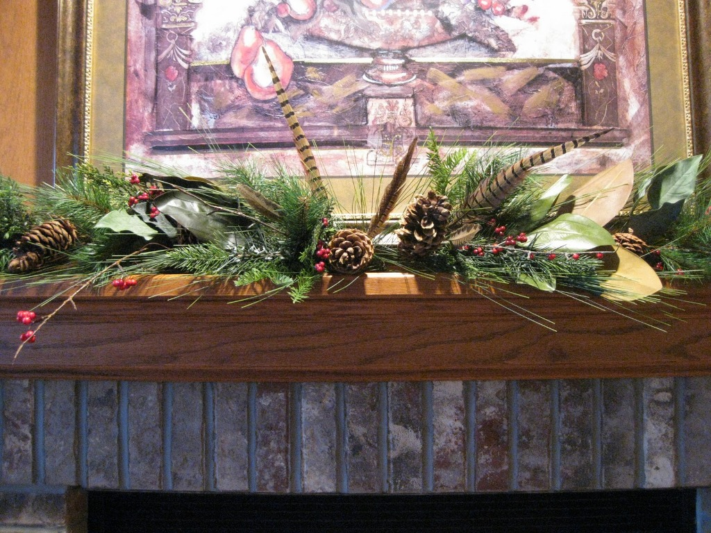 Image of: Decorating Mantels For Fall