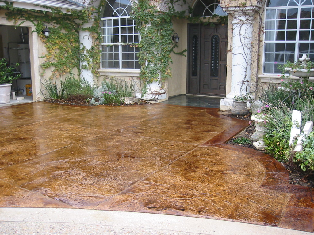 Image of: Decorative Concrete Mix