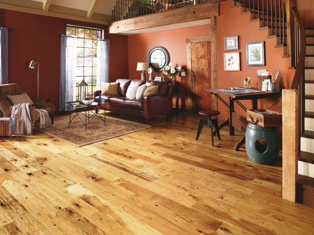 Image of: Distressed Bamboo Flooring