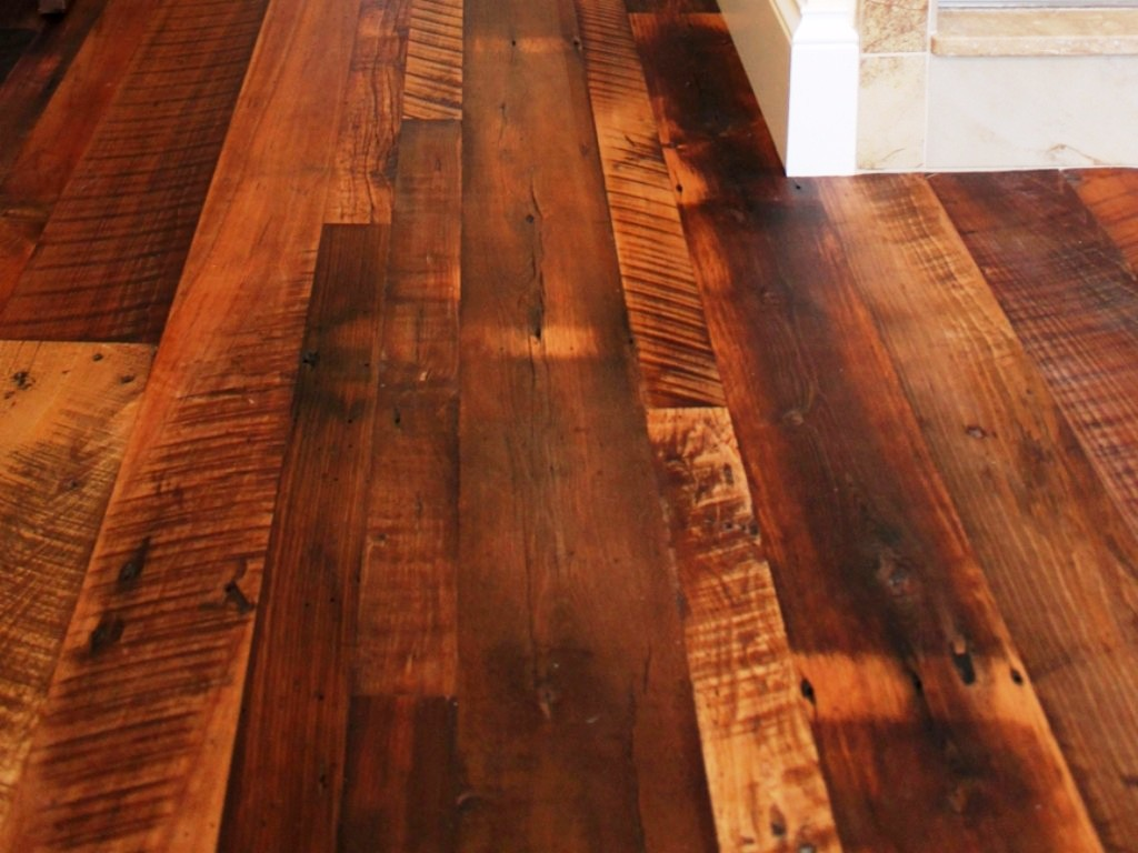 Image of: Distressed Hardwood Flooring Cost