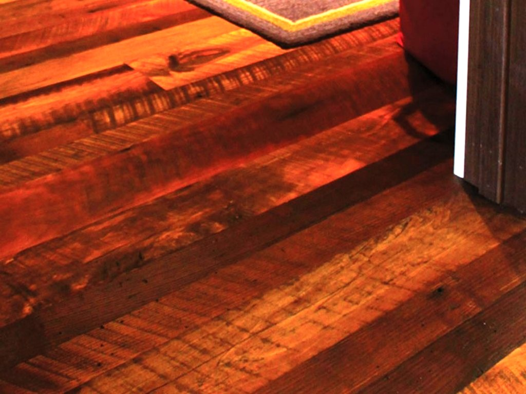 Image of: Distressed Wood Floors