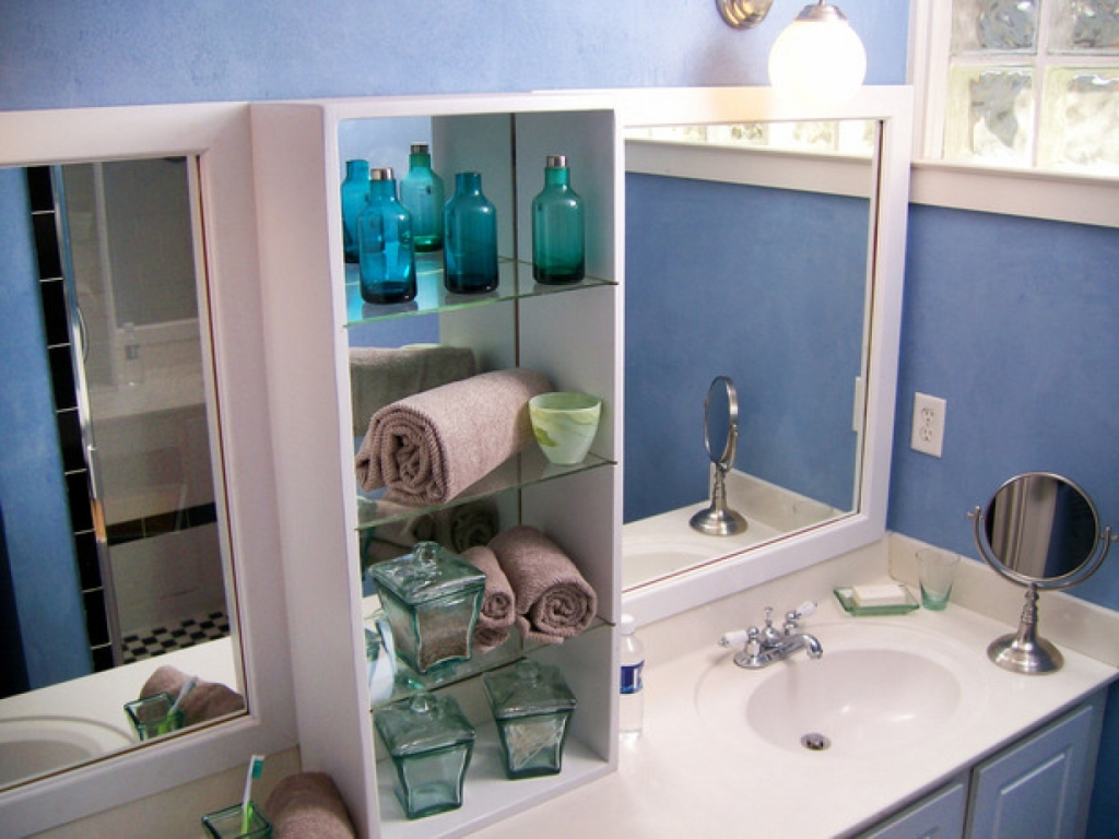 Image of: Diy Organize Bathroom