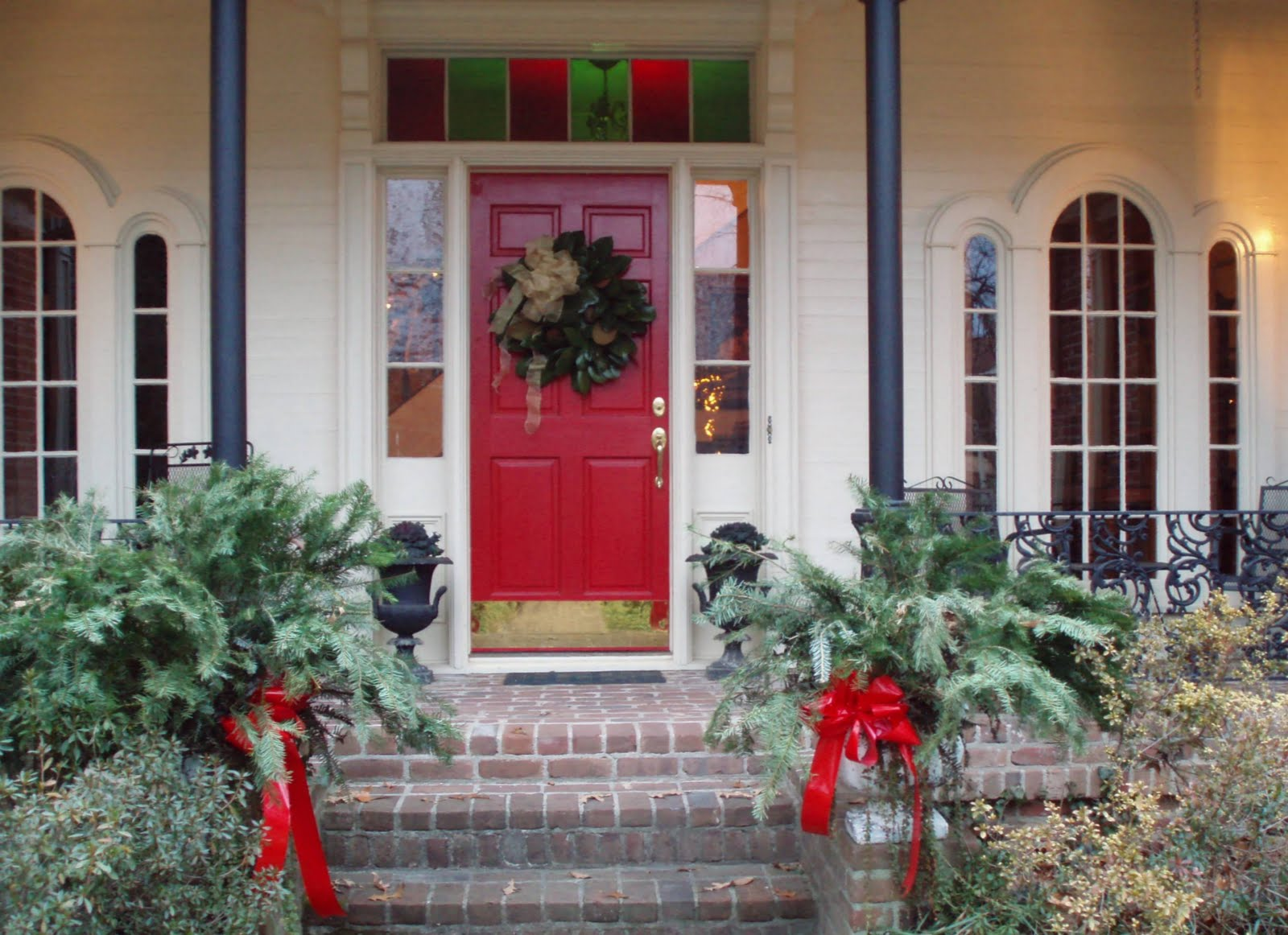 Image of: Door Decorations Christmas