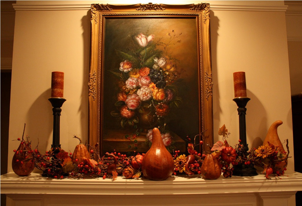 Image of: Fall Decorating Ideas