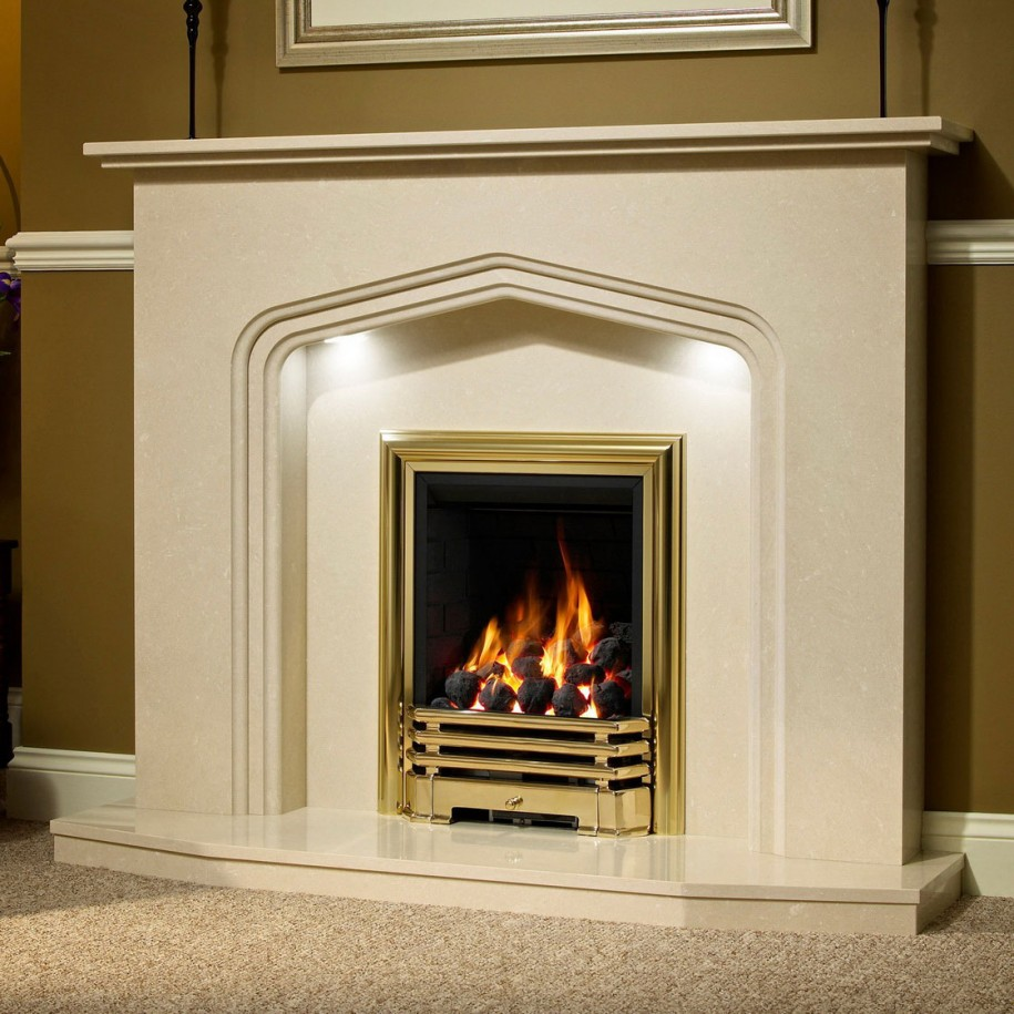Image of: Fireplace Surround Design Ideas