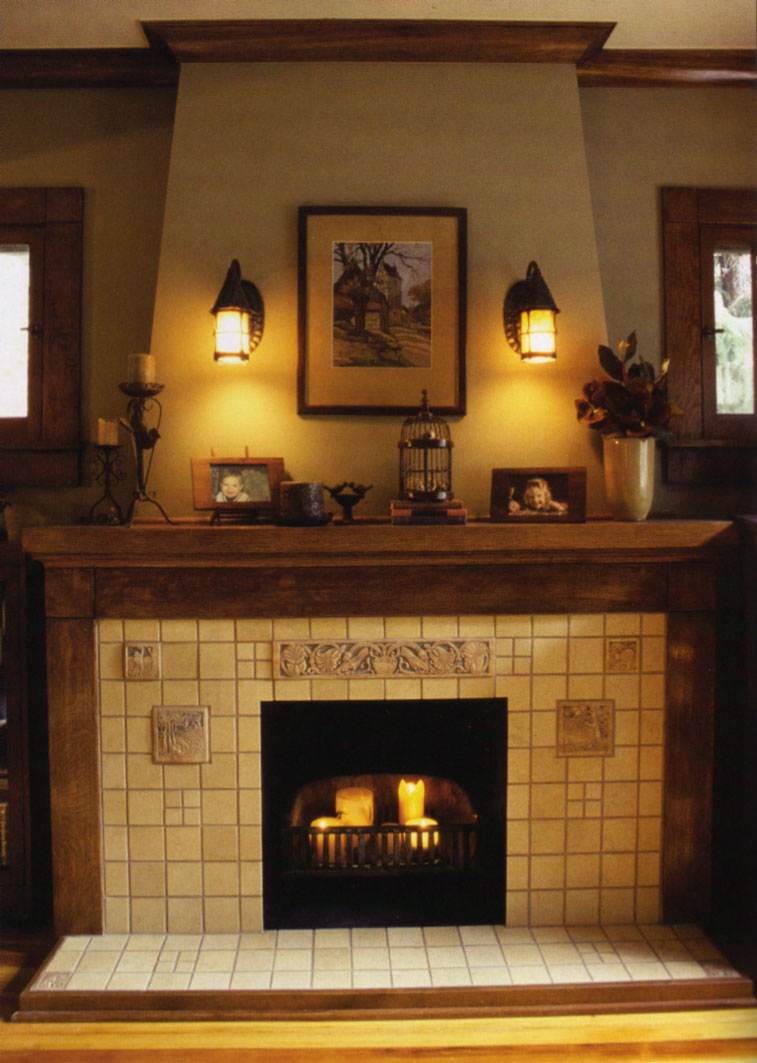 Image of: Fireplace Surround Pictures