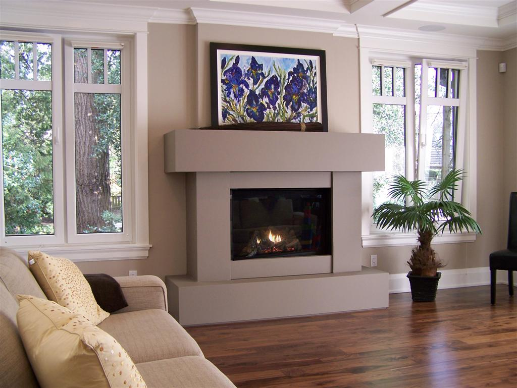 Image of: Fireplace Surrounds Kits