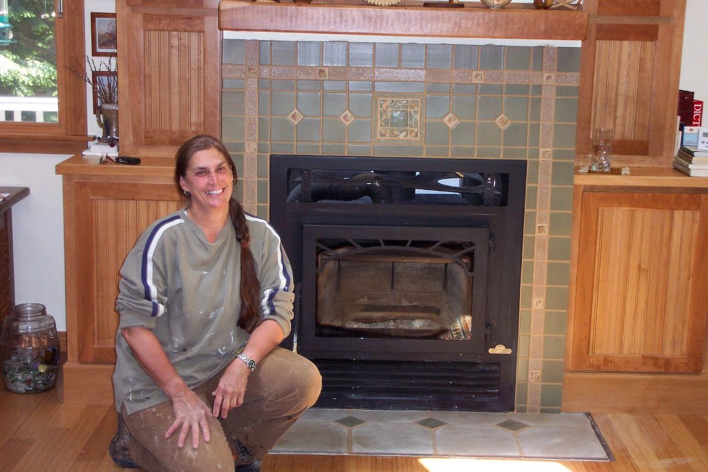 Image of: Fireplace Tile Design Ideas Photos