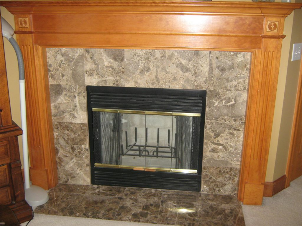 Image of: Fireplace Tile Pictures