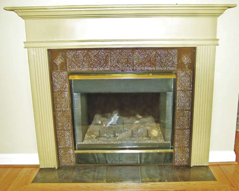 Image of: Fireplace With Tile Ideas
