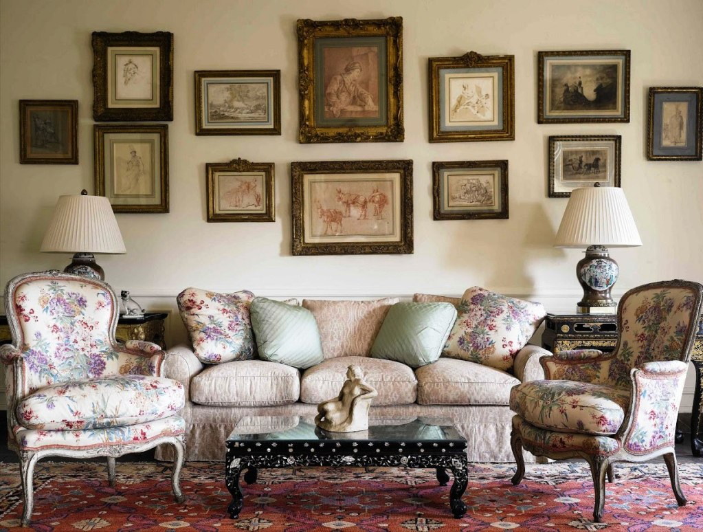 Image of: French Country Decorations