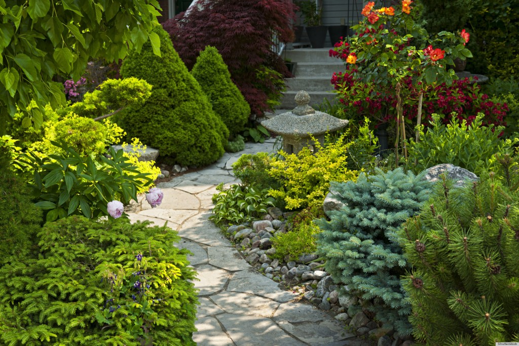 Image of: Garden Edging Blocks