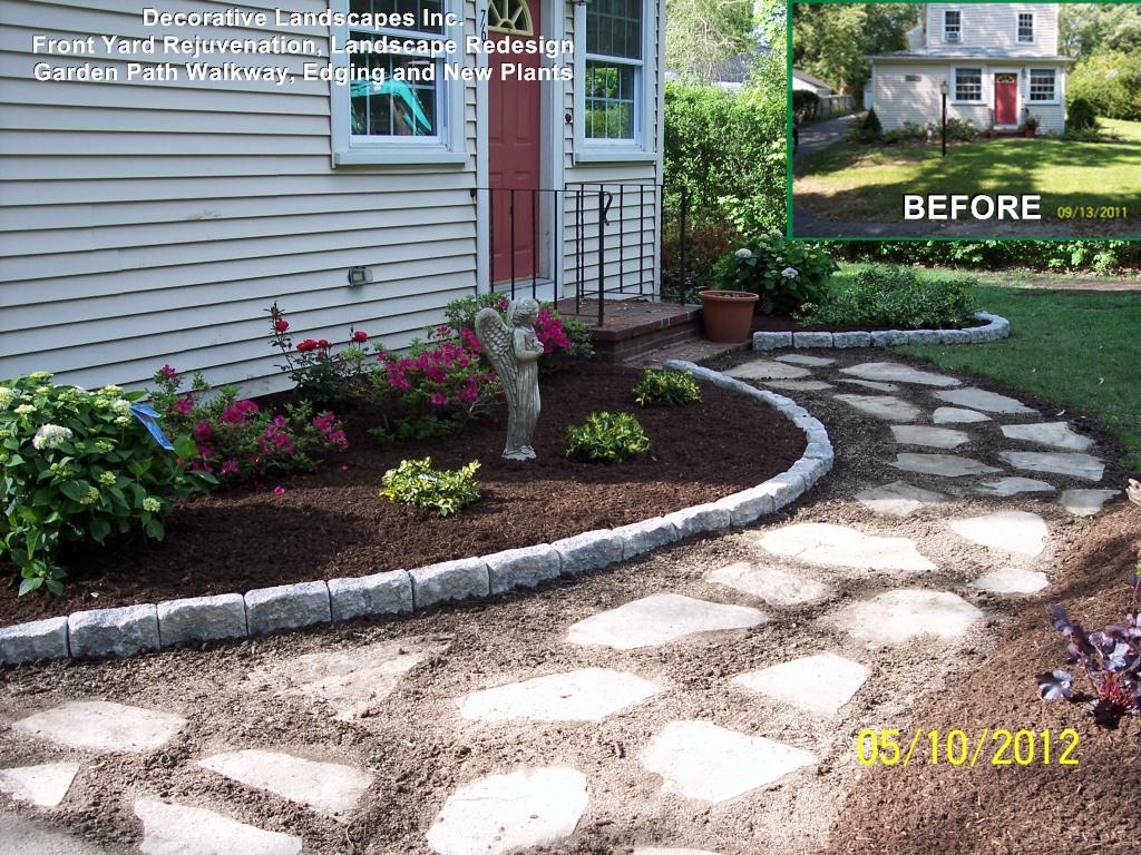 Image of: Garden Edging Ideas For Flower Beds