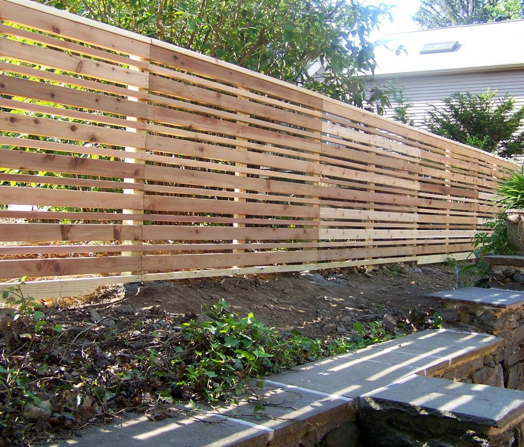 Image of: Garden Fence Design