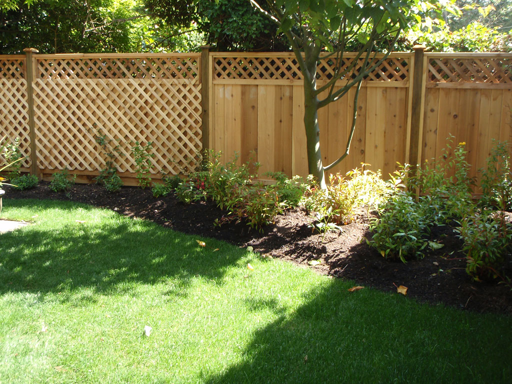 Image of: Garden Fences Ideas Pictures