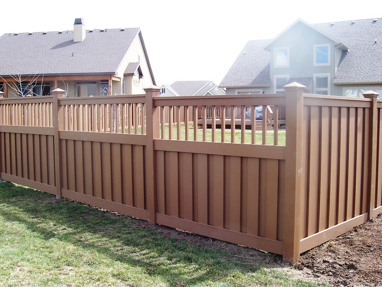 Image of: Garden Fencing Pictures