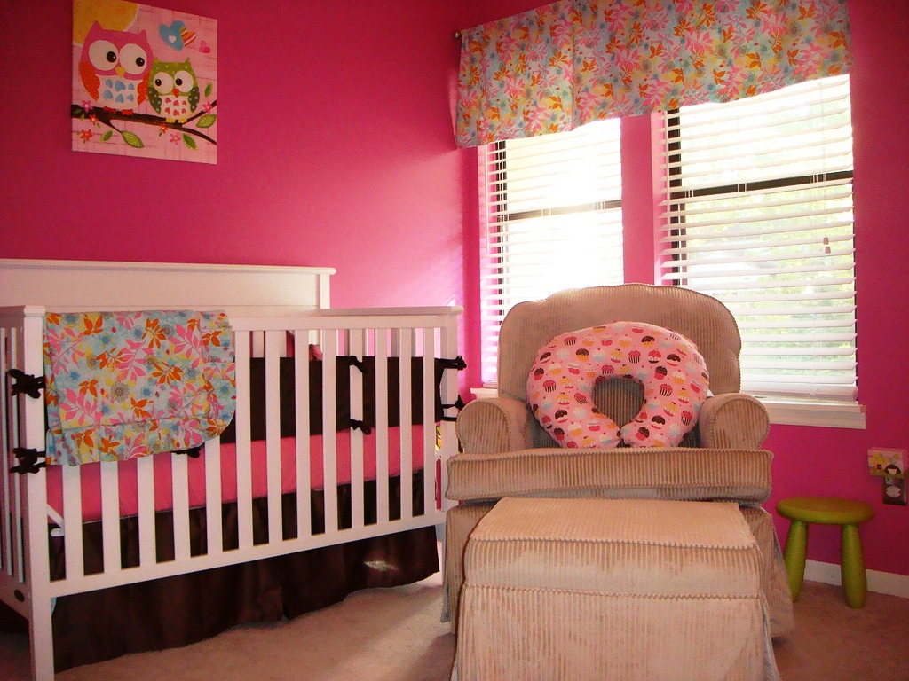 Image of: Girl Nursery Decor Ideas