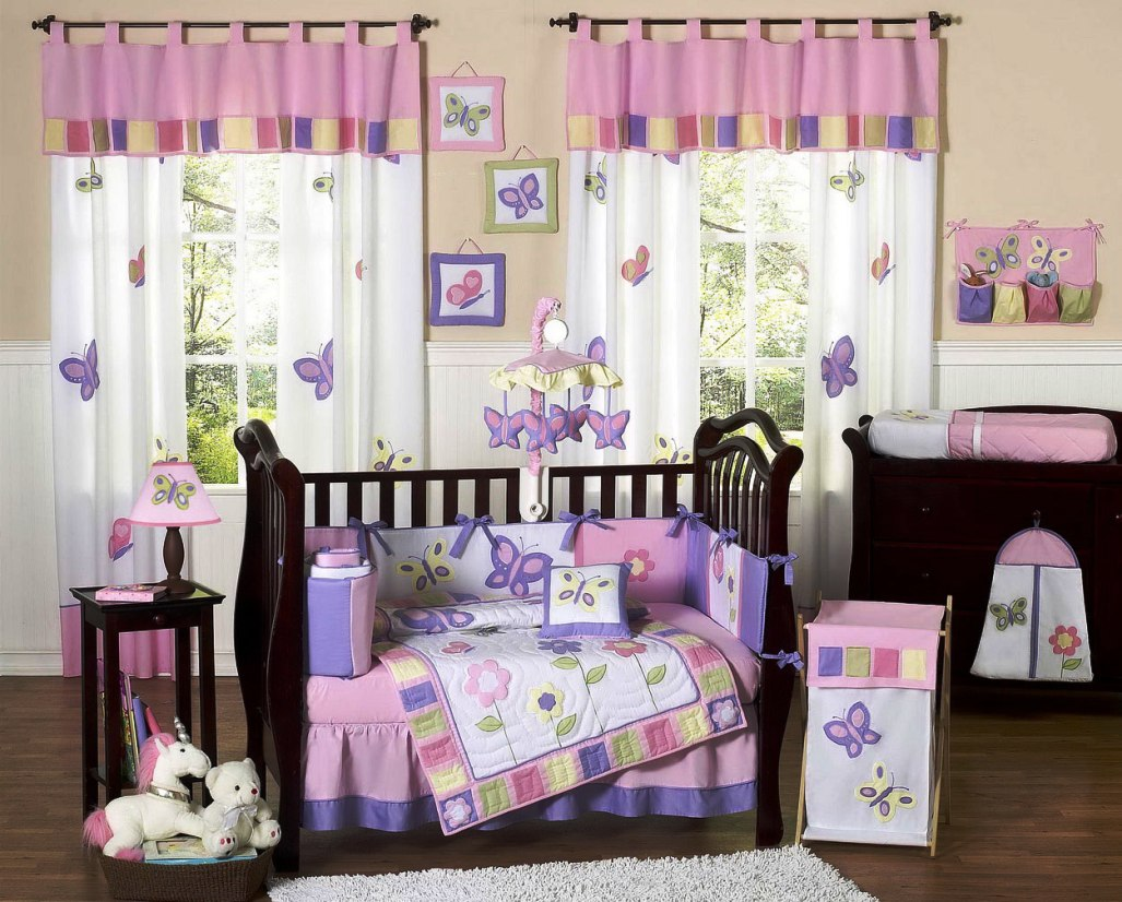 Image of: Girl Nursery Idea