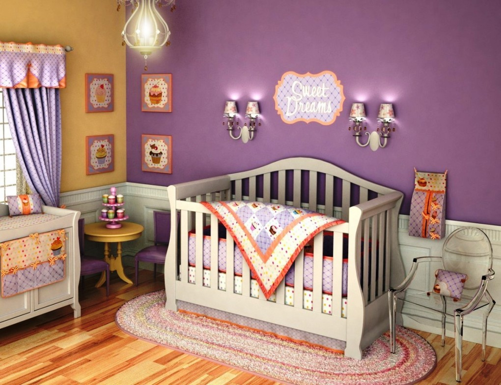 Image of: Girl Nursery Ideas Pictures