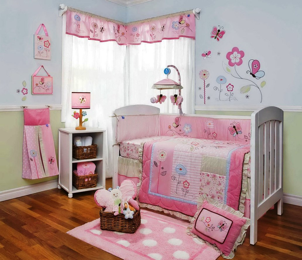 Image of: Girl Nursery Paint Ideas