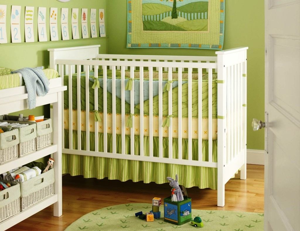 Image of: Ideas For Small Nursery