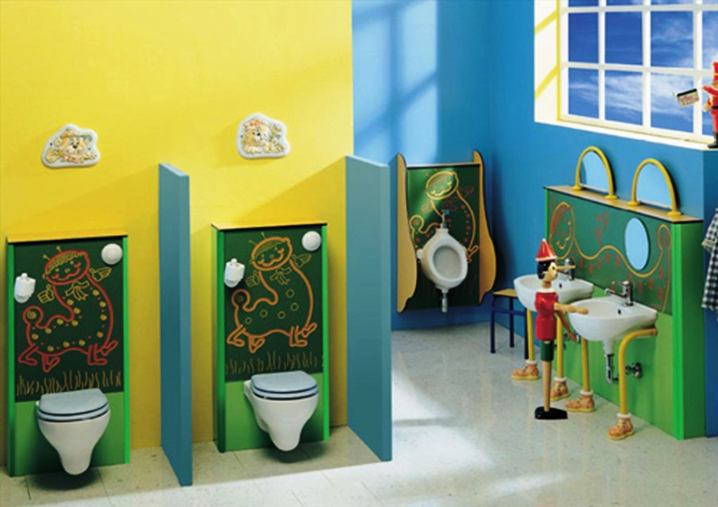 Image of: Kids Bathroom Accessories