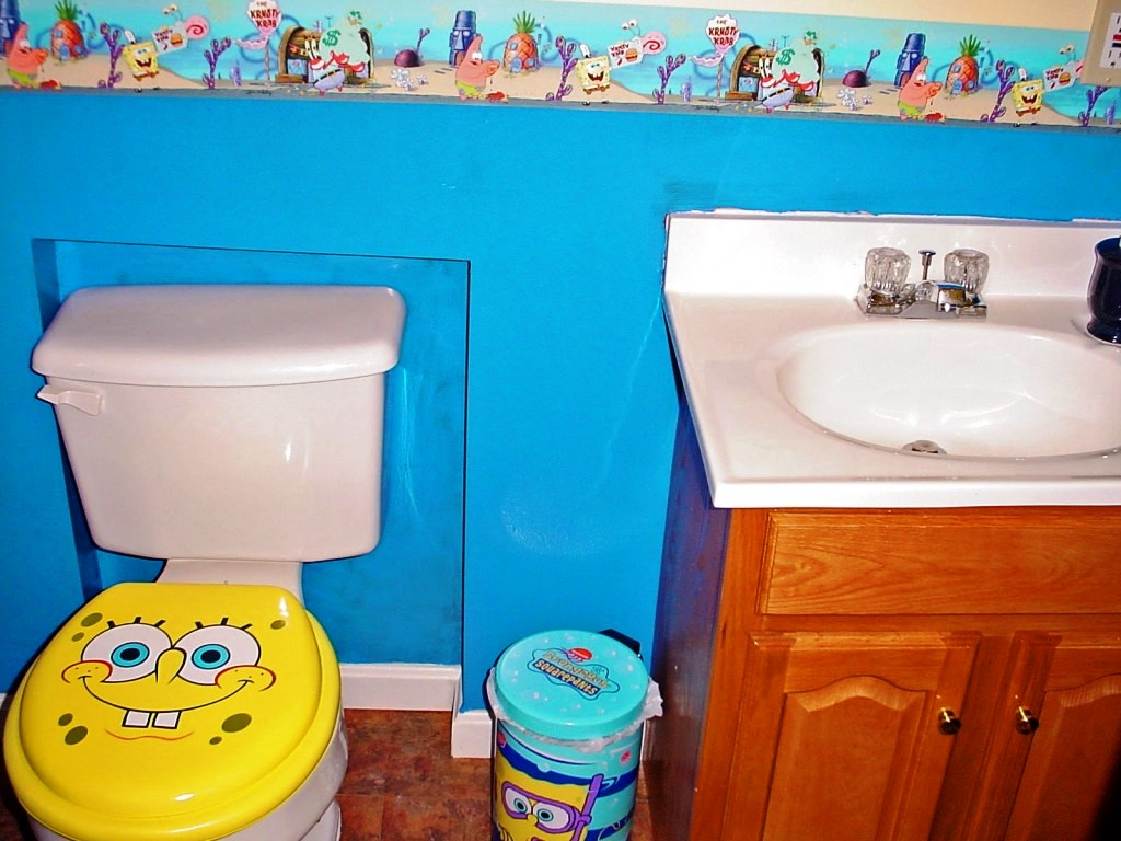 Image of: Kids Bathroom Tile Ideas