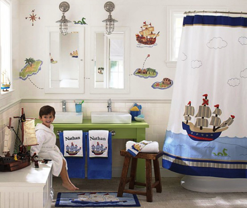 Image of: Kids Bathrooms Ideas