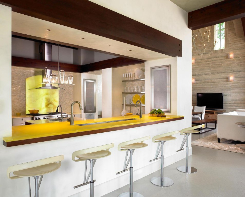 Image of: Kitchen Bar Table Ideas
