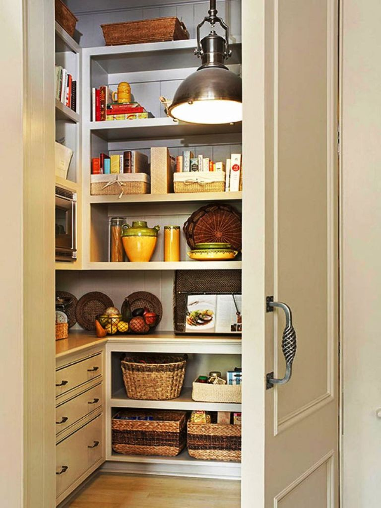Image of: Kitchen Pantry Storage