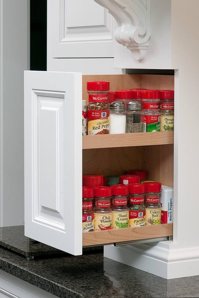 Image of: Kitchen Spice Storage Ideas