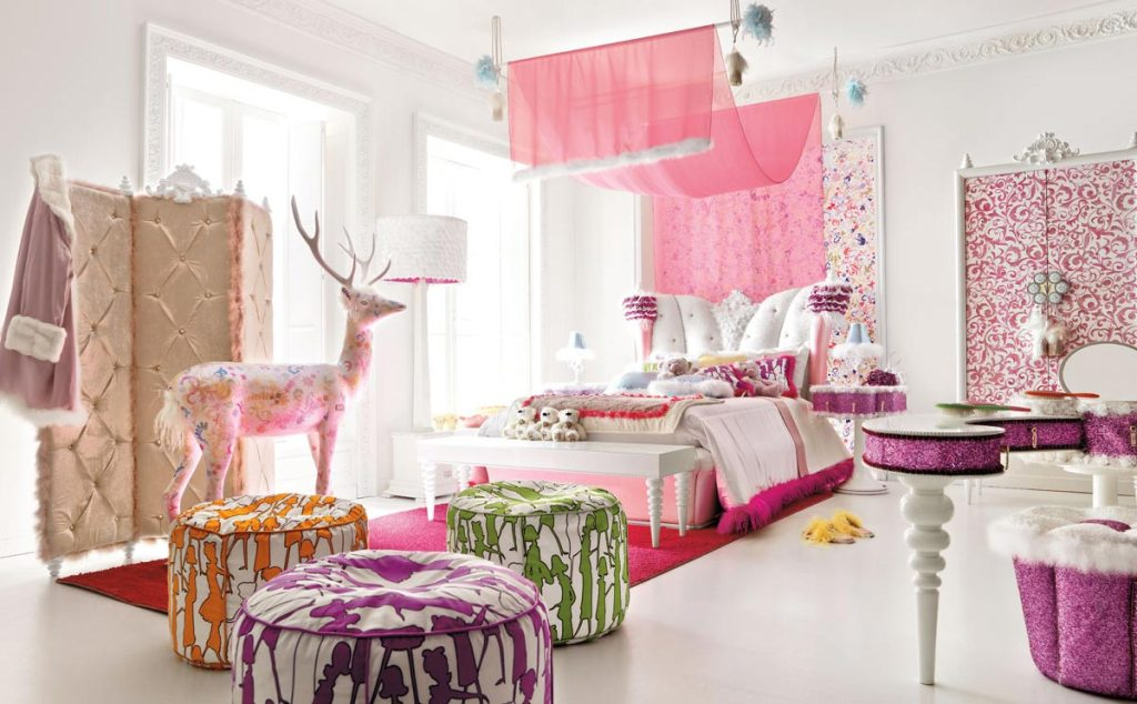 Image of: Little Girl Bedroom Colors Scheme Ideas