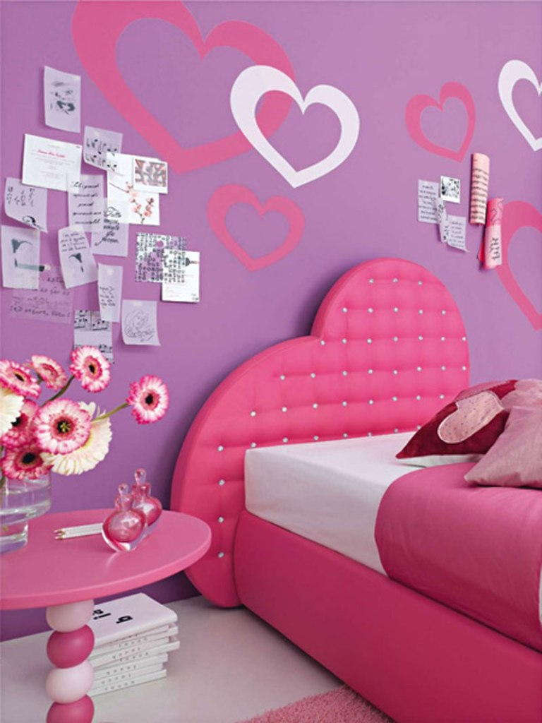 Image of: Little Girls Bedroom Decor